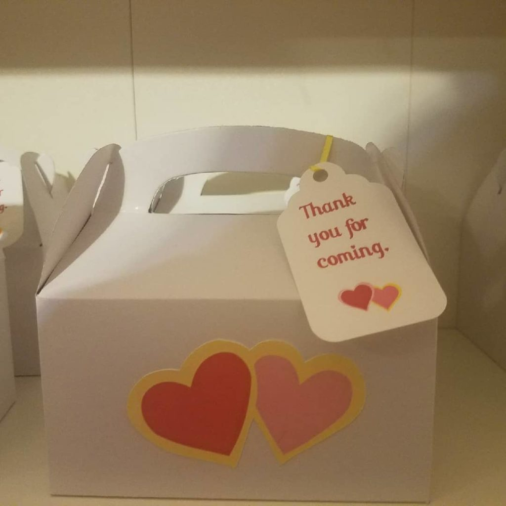 Customized Treat Boxes